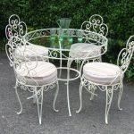 Кованые столы и стулья 009