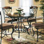 Кованые столы и стулья 002