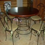 Кованые столы и стулья 005