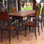Кованые столы и стулья 011