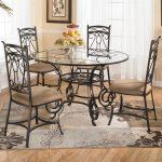 Кованые столы и стулья 014