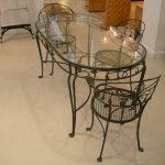 Кованые столы и стулья 016